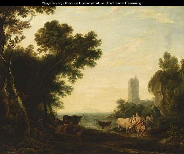 The Rape Of Europa - (after) Claude Lorrain (Gellee)