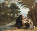 Saint Mary Of Egypt Receiving Her Last Communion From Zosimus - (after) David The Younger Teniers