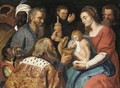 The Adoration Of The Magi 10 - (after) Sir Peter Paul Rubens