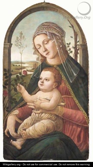 The Madonna And Child - (after) Sandro Botticelli (Alessandro Filipepi)