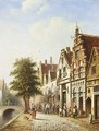 A View Of Amsterdam - Johannes Franciscus Spohler
