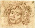 Head Of Bacchus - Dutch Unknown Masters
