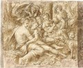Venus And Adonis - (after) Frans, The Elder Floris