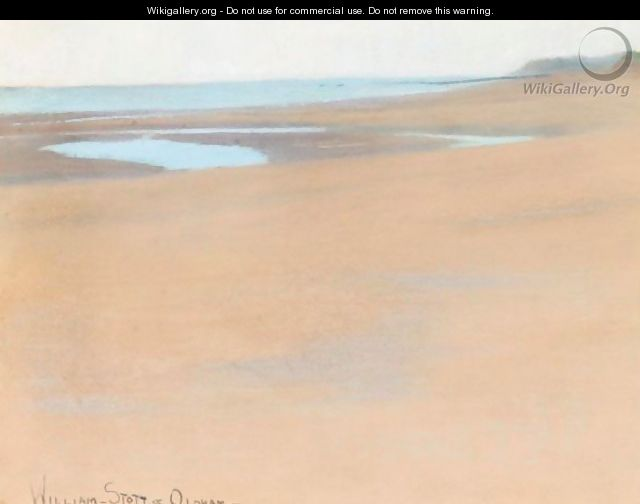 Sand Pools - William Stott Of Oldham