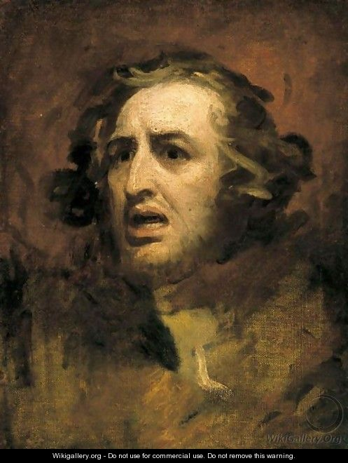 Portrait Of A Gentleman, Possibly William Hayley - George Romney
