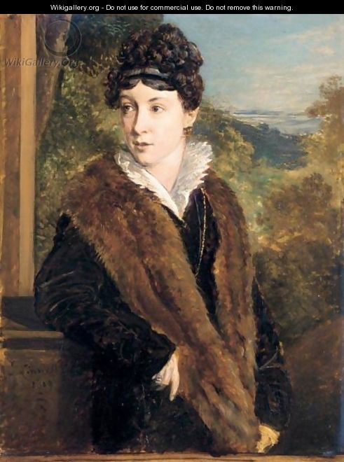 Portrait Of Ann Pepper - John Linnell