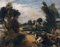 Boys Fishing On The River Stour - John Constable