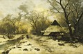 The End Of A Winter's Day - Carl Schultze