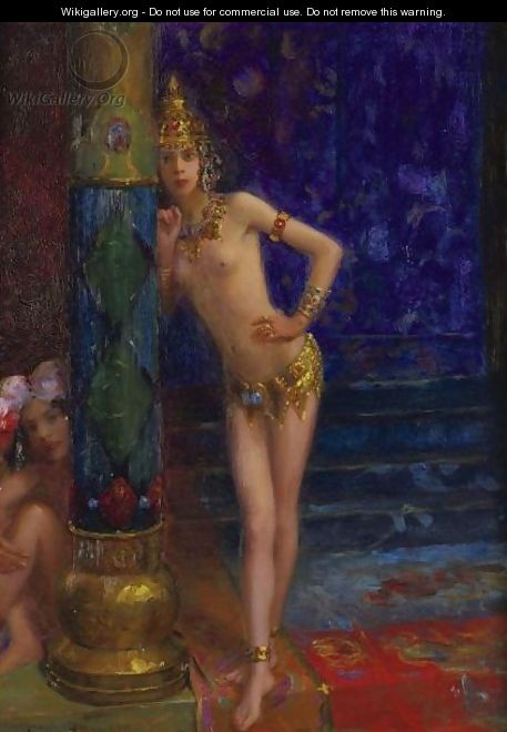 The Far East Ballerinas - Gaston Bussiere