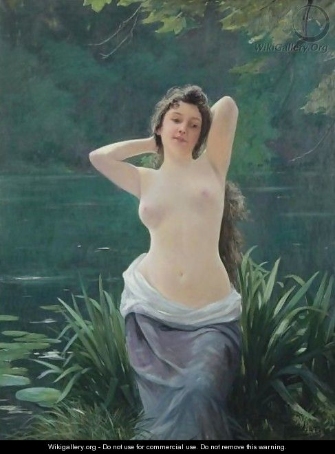 The Bather - French School