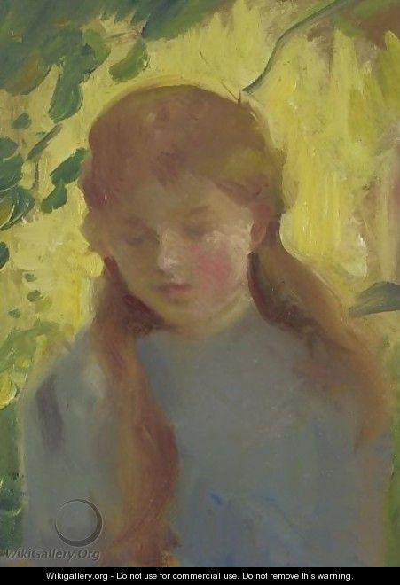 Portrait Of A Young Girl 2 - American School
