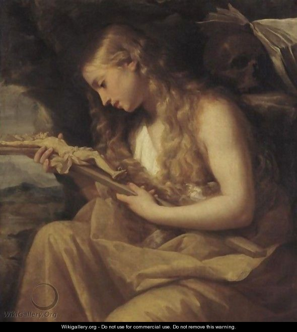 The Penitent Magdalene - Giovanni Gioseffo da Sole
