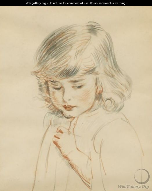 The Bust Of Ellen - Paul Cesar Helleu