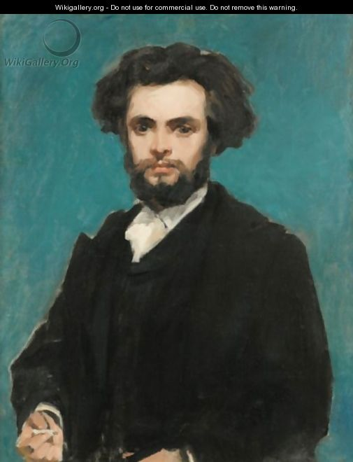 Portrait Of A Young Man - Carolus (Charles Auguste Emile) Duran