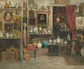 The Antique Dealer - Cesare Vianello