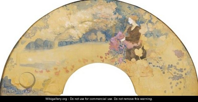 The Ballad Of The Ladies In Times Past - Charles Edward Conder