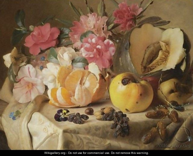 Still Life With Autumn Fruits - Theude Gronland