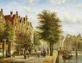 By The Canal - Johannes Franciscus Spohler