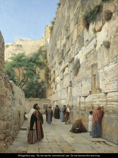 Wailing Wall Painting
