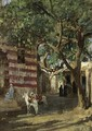 A Street Scene - (after) Frederick Arthur Bridgman