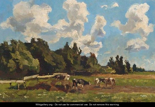 Cows In A Field - Willem de Zwart