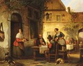 The Card Game - Ferdinand de Braekeleer
