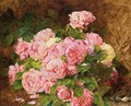 A Bunch Of Pink Peonies - Georges Jeannin