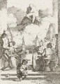 Etchings After Italian Masters - Jean-Honore Fragonard
