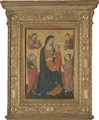 The Madonna And Child With Saints - Italian School