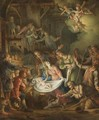 The Adoration Of The Shepherds 2 - German School