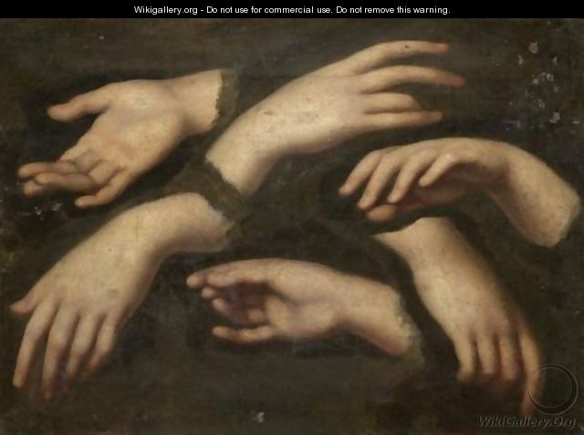 Hand Studies - (after) Mengs, Anton Raphael
