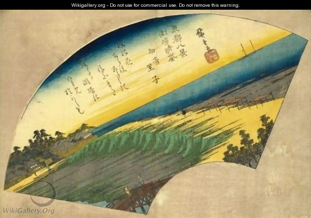 Weather In Susaki - Utagawa or Ando Hiroshige