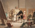 In The Artist's Studio - Alphonse De Labroue