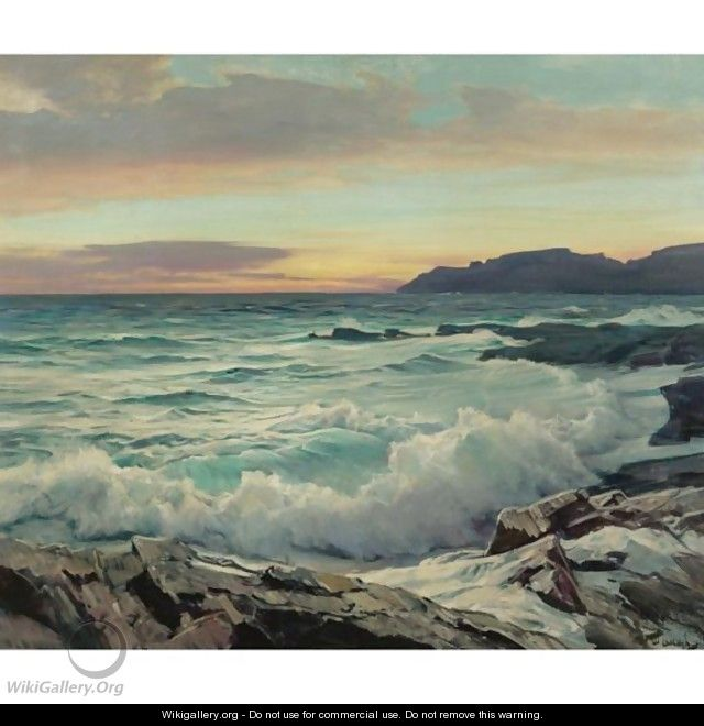 Dawn In The East - Frederick Judd Waugh