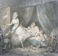 The Chambermaid - Thomas Rowlandson