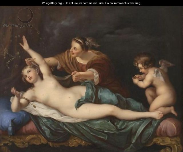 The Rape Of Danae - (after) Mengs, Anton Raphael