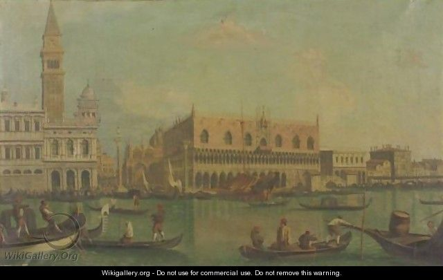 View Of Palazzo Ducale - (after) (Giovanni Antonio Canal) Canaletto