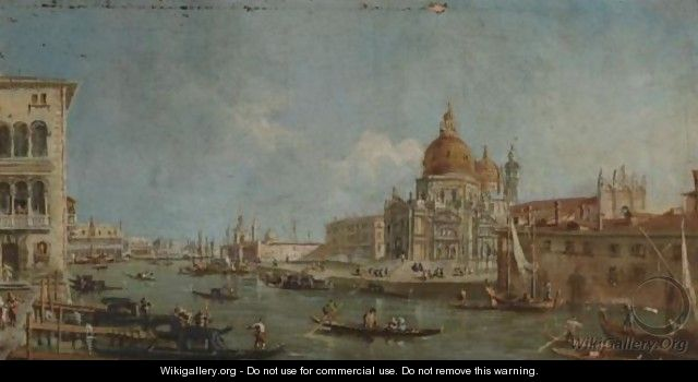 View Of Santa Maria Della Salute, Venice - (after) (Giovanni Antonio Canal) Canaletto