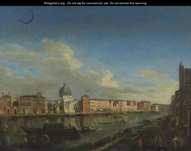 The Grand Canal - (after) (Giovanni Antonio Canal) Canaletto
