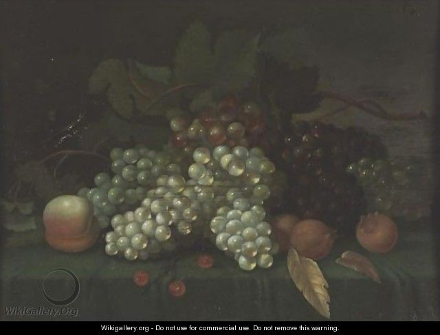 Still Life Of Fruit - Jacob Fopsen van Es
