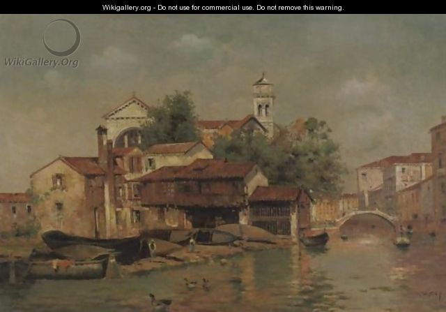A View Of Venice 2 - Antonio Maria de Reyna
