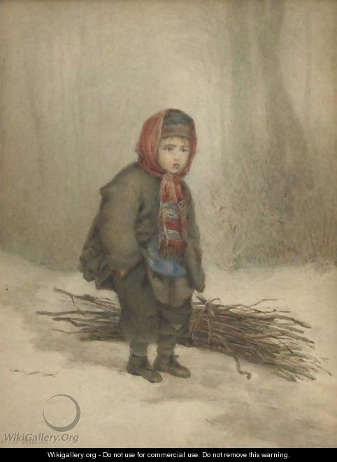 The Young Woodsman - Edouard Frère