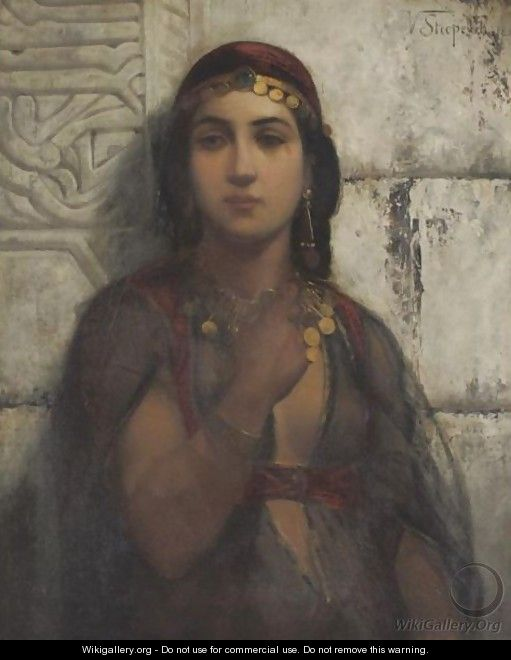 A Gypsy Girl - Vincent G. Stiepevich