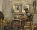 A Cobbler At Work - Adriaan De La Riviere