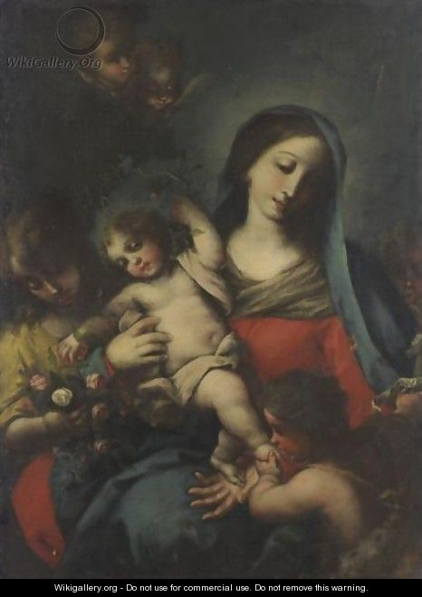 Madonna And Child 3 - Italian School