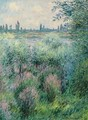 Bords De La Seine, Un Coin De Berge - Claude Oscar Monet