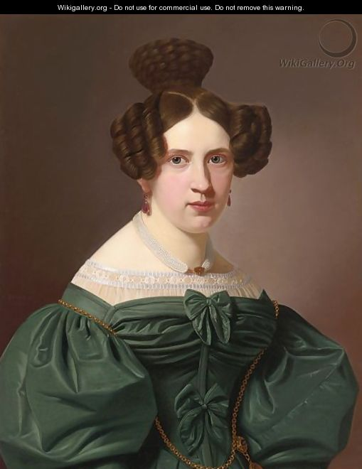 A Portrait Of Emilie Feustell - Christian Tunica