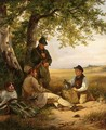 'A Well Deserved Meal In The Fields' - Karl Friedrich Schulz