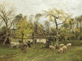 A Sussex Farmstead - William Mark Fisher