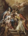 The Mystic Marriage Of Saint Catherine - Venetian School